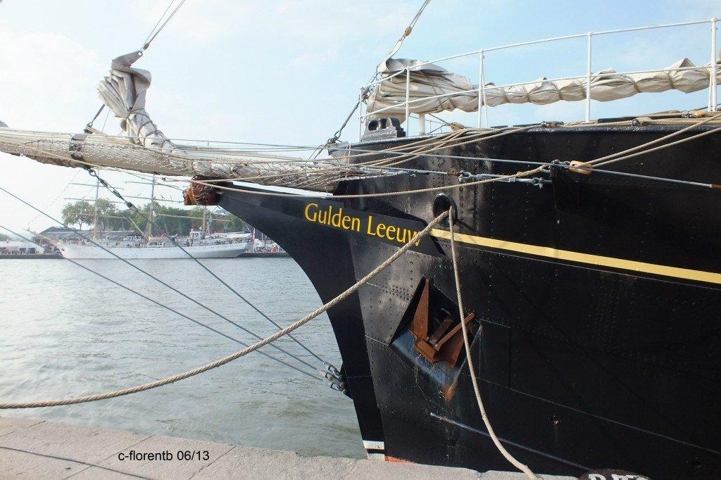 Souvenirs Armada de Rouen 2013 : Gulden Leeuw dans Magazine dscf0094b