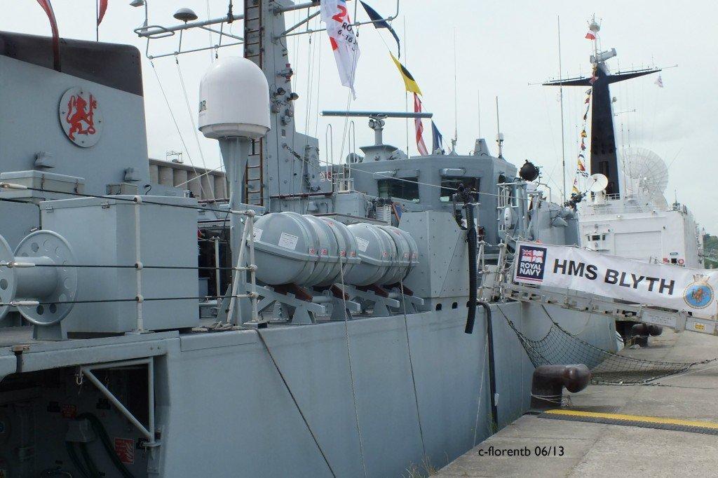 Souvenirs Armada de Rouen 2013 : HMS Blyth dans Moments dscf0133b